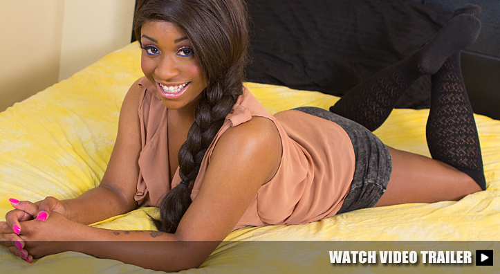 Beautiful Ebony Fucked Hard